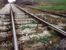 Σιδηρόδρομος upclose Στοκ Εικόνες