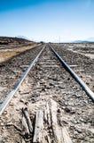 Σιδηρόδρομος Uyuni Στοκ Φωτογραφίες