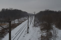 Σιδηρόδρομος Zinmyaya Στοκ φωτογραφία με δικαίωμα ελεύθερης χρήσης