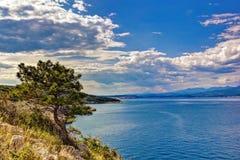 Σιλό Κροατία τοπίων Στοκ Εικόνες