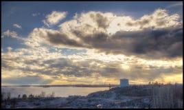 Σιλό πετρελαίου Στοκ εικόνα με δικαίωμα ελεύθερης χρήσης
