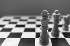 Σκάκι-άτομο Στοκ Φωτογραφία