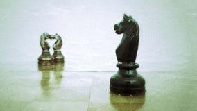 Σκάκι εναντίον της πραγματικότητας Στοκ Εικόνες
