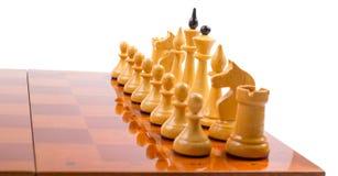 Σκάκι επάνω Στοκ Φωτογραφία
