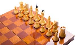 Σκάκι επάνω Στοκ εικόνα με δικαίωμα ελεύθερης χρήσης