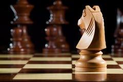 Σκάκι ιπποτών Στοκ εικόνες με δικαίωμα ελεύθερης χρήσης