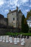 Σκάκι κήπων στοκ εικόνα