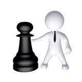 Σκάκι και αριθμός διανυσματική απεικόνιση