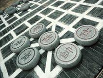 σκάκι κινέζικα Στοκ εικόνες με δικαίωμα ελεύθερης χρήσης