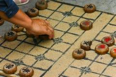σκάκι κινέζικα Στοκ Φωτογραφίες