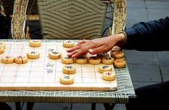 σκάκι κινέζικα Στοκ Εικόνα