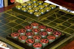 σκάκι κινέζικα Στοκ Φωτογραφία