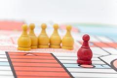 Σκάκι μάχης στο άσπρο υπόβαθρο Στοκ εικόνες με δικαίωμα ελεύθερης χρήσης