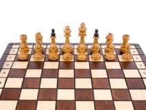 σκάκι ξύλινο Στοκ Εικόνες