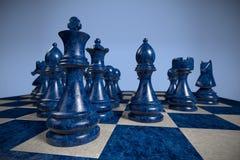 Σκάκι: ομάδα Στοκ Εικόνες