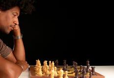 Σκάκι παιχνιδιού Στοκ Φωτογραφία
