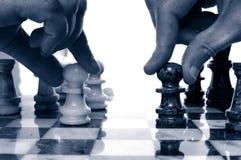 σκάκι πρόκλησης Στοκ Εικόνα