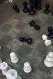 Σκάκι στο έδαφος Στοκ φωτογραφία με δικαίωμα ελεύθερης χρήσης