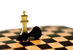 Σκάκι, στρατηγική, πρόκληση, νικητής, νίκη, έννοια Στοκ φωτογραφία με δικαίωμα ελεύθερης χρήσης