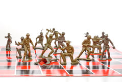 σκάκι στρατού Στοκ φωτογραφίες με δικαίωμα ελεύθερης χρήσης