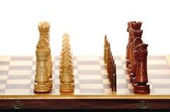 σκάκι τελευταίο Στοκ Φωτογραφίες