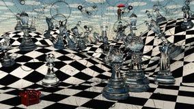 Σκάκι φαντασίας Στοκ φωτογραφία με δικαίωμα ελεύθερης χρήσης