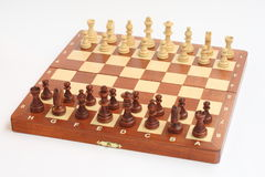 σκάκι χαρτονιών Στοκ φωτογραφία με δικαίωμα ελεύθερης χρήσης