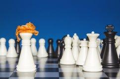 Σκάκι ως πολιτική 16 Στοκ Εικόνες
