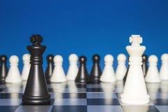 Σκάκι ως πολιτική 29 Στοκ Εικόνες