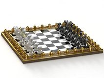 σκάκι ελεύθερη απεικόνιση δικαιώματος