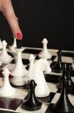 σκάκι Στοκ Φωτογραφία