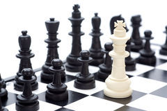 σκάκι Στοκ φωτογραφία με δικαίωμα ελεύθερης χρήσης