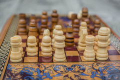 Σκάκι 7 Στοκ Εικόνες