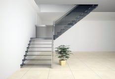 Σκάλα γυαλιού Στοκ Εικόνα