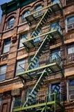 σκάλα διαφυγών στοκ εικόνα