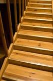 σκάλα κίτρινη Στοκ φωτογραφία με δικαίωμα ελεύθερης χρήσης