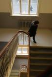 σκάλα μαθητριών στοκ εικόνες με δικαίωμα ελεύθερης χρήσης