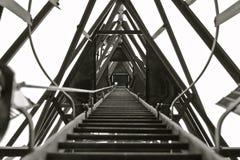 σκάλα μακριά στην κορυφή Στοκ Φωτογραφίες