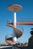 σκάλα παραλιών πρόσβασης Στοκ φωτογραφίες με δικαίωμα ελεύθερης χρήσης