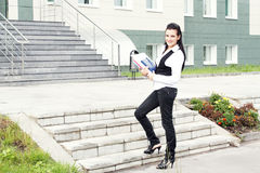 σκάλα σταδιοδρομίας αρ&chi Στοκ φωτογραφία με δικαίωμα ελεύθερης χρήσης