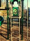Σκάλα στην παιδική χαρά Στοκ φωτογραφίες με δικαίωμα ελεύθερης χρήσης