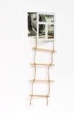 σκάλα στον πλούτο Στοκ εικόνα με δικαίωμα ελεύθερης χρήσης