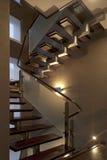 σκάλα σύγχρονη Στοκ φωτογραφίες με δικαίωμα ελεύθερης χρήσης