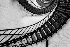 σκάλα του ST φάρων augustine Στοκ Εικόνες