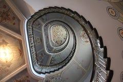 Σκάλα Nouveau τέχνης Στοκ εικόνες με δικαίωμα ελεύθερης χρήσης