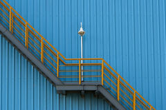 Σκάλες και τοίχοι Στοκ Φωτογραφία