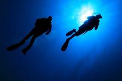 σκάφανδρο κατάδυσης Στοκ εικόνες με δικαίωμα ελεύθερης χρήσης