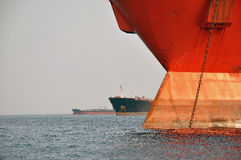 σκάφη αγκυλών στοκ εικόνες με δικαίωμα ελεύθερης χρήσης