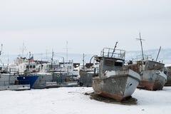 Σκάφη απορρίψεων Στοκ εικόνες με δικαίωμα ελεύθερης χρήσης