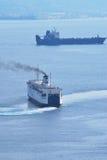 σκάφη δύο Στοκ εικόνα με δικαίωμα ελεύθερης χρήσης
